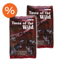 Pachet economic: Taste of the Wild Southwest Canyon Canine Formula, 2 x 13 Kg