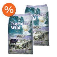 Pachet economic: Taste of the Wild Sierra Mountain, 2 x 12.2 Kg