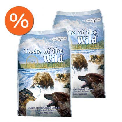 Pachet economic: Taste of the Wild Pacific Stream Canine, 2 x 13 Kg