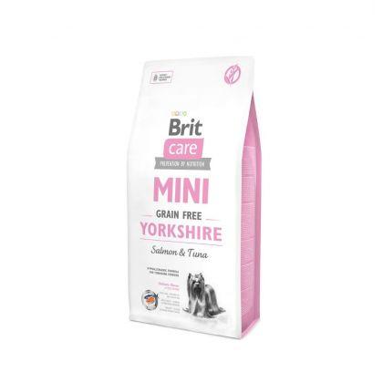 Hrana uscata pentru caini Brit Care Mini Grain Free Yorkshire, 7 Kg + 2 Kg Gratuit