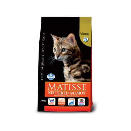 Hrana uscata pentru pisici, Matisse Neutered cu Somon, 1.5 Kg