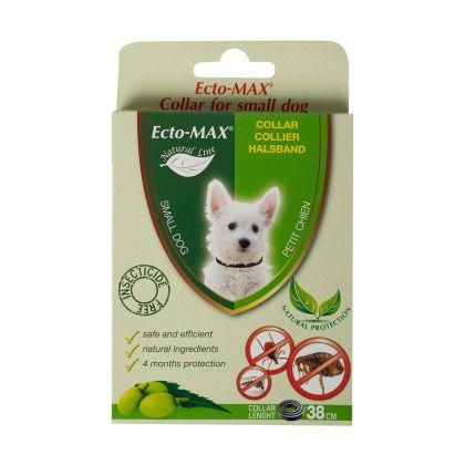 Zgarda Antiparazitara pentru caini Ecto Max Bio Dog, S