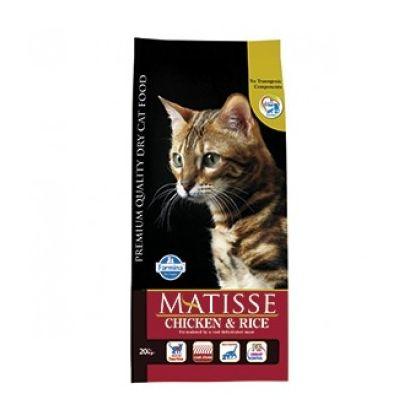 Hrana uscata pentru pisici Matisse Original cu Pui si Orez, 1.5 Kg