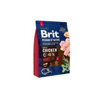 Hrana uscata pentru caini Brit Premium by Nature Adult L, 3 Kg