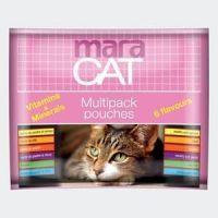 Hrana umeda pentru pisici, Multipack Pouches Maracat, 6 x 100 g