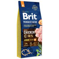 Brit Premium by Nature Junior M, 15 Kg