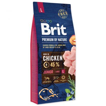 Hrana uscata pentru caini Brit Premium by Nature Junior L, 15 Kg