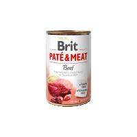 Conserva cu bucati de carne si pate, Brit Pate & Meat cu Vita, 400 g