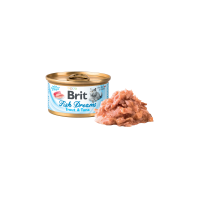 Conserva pentru pisici, Brit Fish Dreams cu Pastrav si Ton, 80 g