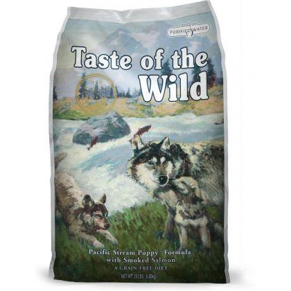 Hrana uscata pentru caini Taste of the Wild Pacific Stream Puppy Formula, 13 Kg