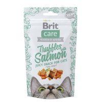 Recompense pisici, Brit Care Truffles cu Somon, 50 g