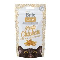 Brit Care Cat Snack Meaty cu Pui, 50 g
