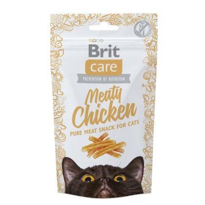 Brit Care Cat Snack Meaty cu Pui, 50 g