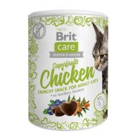 Brit Care Cat Snack Superfruits cu Pui, 100 g