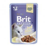 Hrana umeda pentru pisici, Brit Cat Delicate Vita in Jeleu, 85 g