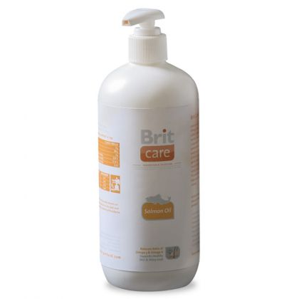 Ulei de Somon Brit Care, 1000 ml