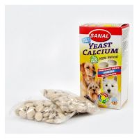 Sanal Dog Yeast Calcium, 100 Tablete