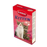 Supliment nutritiv Sanal Kitten, 40 Tablete