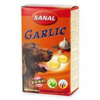 Supliment nutritiv Sanal Dog cu Usturoi, 100 Tablete