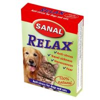 Supliment nutritiv Sanal Cat-Dog Relax, 15 Tablete