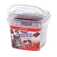 Sanal Cat Cranberry & Chicken Bites Cup, 75 g