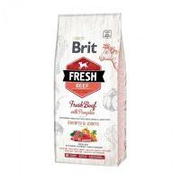 Hrana uscata pentru caini, Brit Fresh Vita si Dovleac, Puppy Large, 12 kg