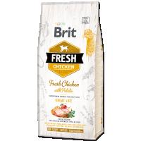 Hrana uscata pentru caini, Brit Fresh Pui si Cartofi, Adult, 12 kg