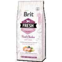 Hrana uscata pentru caini, Brit Fresh Pui si Cartofi, Puppy, 12 kg