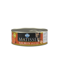 Hrana umeda pentru pisici, Matisse Mousse cu Somon, 85 g