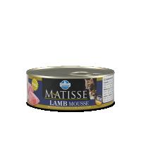 Hrana umeda pentru pisici, Matisse Mousse cu Miel, 85 g