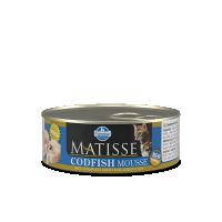 Hrana umeda pentru pisici, Matisse Mousse cu Cod, 85 g