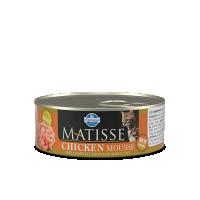 Hrana umeda pentru pisici, Matisse Mousse cu Pui, 85 g