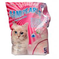 Asternut Igienic Silicat Maxima SaniPearls, Perle Roz, 5 L