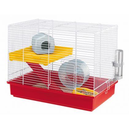 Cusca pentru hamsteri, Ferplast Duo Alb