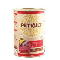 Hrana umeda pentru caini, Petkult Adult Dog Vita, 400g