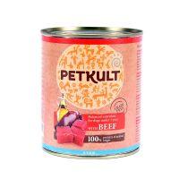 Hrana umeda pentru caini, Petkult Junior cu Vita, 400g