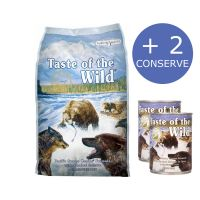 Taste of the Wild Pacific Stream Canine, 13 Kg + 2 Conserve Taste of the Wild