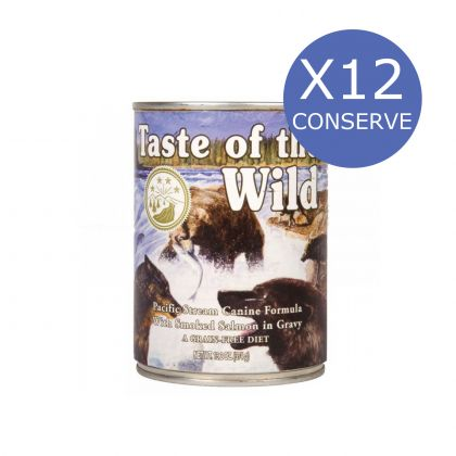 12 x Taste of the Wild Pacific Stream, 390g