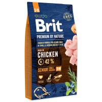 Hrana uscata pentru caini, Brit Premium by Nature Senior S + M, 8 kg