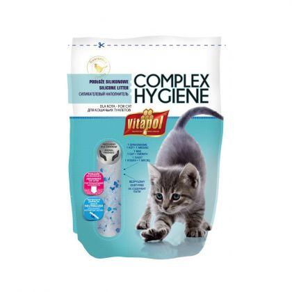 Nisip litiera pisici Vitapol Nisip Silicat, 3.8 L