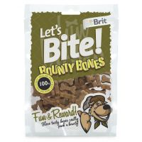 Recompense pentru caini Brit Let's Bite Bounty Bones, 150g