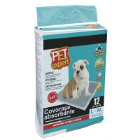 Pet Expert Covor Absorbant M Carbon, 45x60 cm / 12 buc