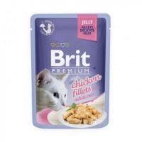 5 x Brit Cat Delicate Pui in Jeleu, 85 g