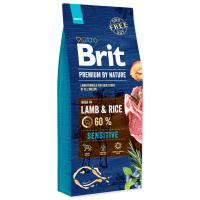 Hrana uscata pentru caini Brit Premium by Nature Sensitive Lamb, 3 Kg