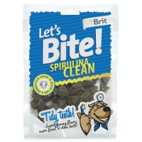 Recompense pentru caini Brit Let's Bite Spirulina Clean, 150g