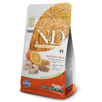 N&D Cat Adult Low Grain Codfish and Orange, 5 kg