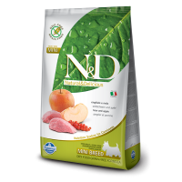 Hrana uscata pentru caini N&D Grain Free Adult Mini, Mistret si Mar, 7 kg