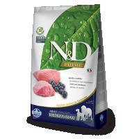 N&D Grain Free Adult Medium si Maxi, Miel si Afine, 2.5 kg