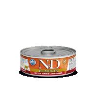 Hrana umeda pentru pisici, Conserva N&D Cat cu Pui, Dovleac si Rodie, 80 g