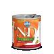 Hrana umeda pentru caini, Conserva N&D Dog cu Pui, Dovleac si Rodie, 285 g